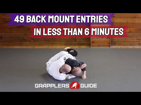 49 Back Mount Entries in Less Than 6 Min - Jason Scully BJJ Grappling