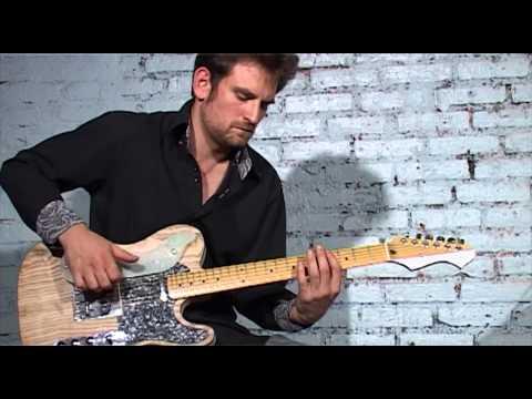 Gperc - la guitare percussion par Brice Delage