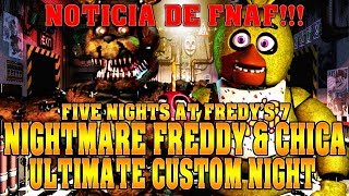 ¡ULTIMA NOTICIA DE FNAF! | Five Nights at Freddy
