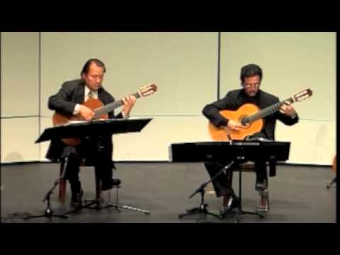 Odeum Guitar Duo - Antonio Vivaldi / JS Bach - Larghetto&Allegro BWV 972 - May 9, 2011
