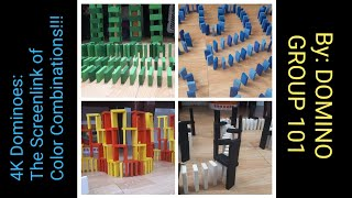 4K Dominoes: The Screenlink of Color Combinations!!!