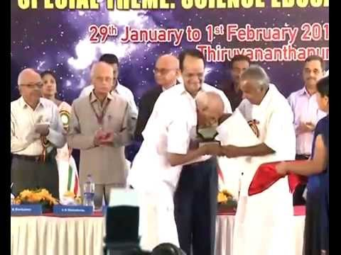 25th Kerala Science Congress- Inauguration-Kerala Chief Minister Shri.Oommen Chandy