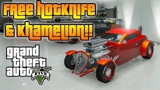 ★ GTA 5 : How to Get FREE HOTKNIFE & KHAMELION, &  Buy CARGOBOB (GTA 5 GLITCHES)