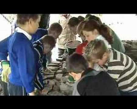 Sustainable Blog Wales, Edwardsville Primary School, Cob House