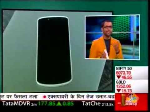 Karbonn Titanium X  review - Cnbc Awaaz - Tech Guru 30.01.2014 video