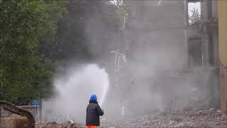 Excavator Hitachi 870 bath 50 meters free fall