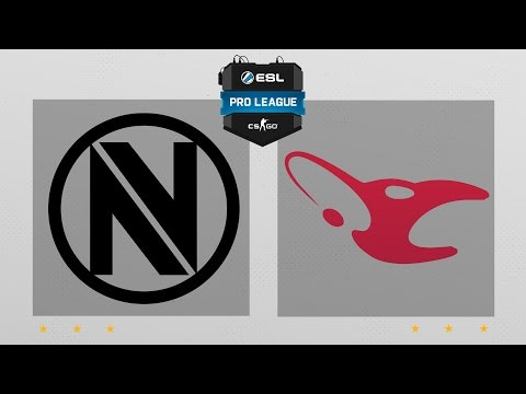 CS:GO - EnVyUs vs. Mousesports [Nuke] Map 2 - ESL Pro League Season 5 - EU Matchday 20 [1/2]