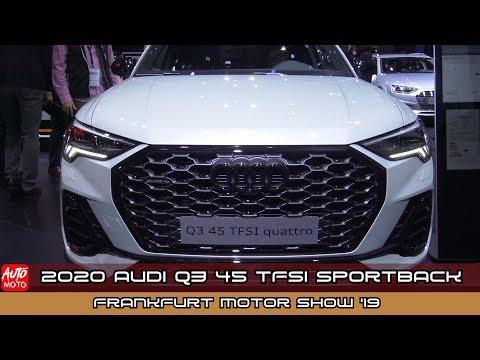 2020 Audi Q3 45 TFSI Sportback - Exterior And Interior - IAA Frankfurt Motor Show 2019