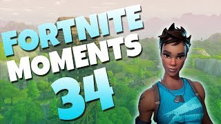 ONE IN A MILLION HIP-FIRE SHOT!? | Fortnite Daily Funny and WTF Moments Ep. 34