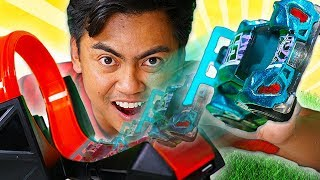 Hot Wheels id TRICK SHOTS! - Challenge