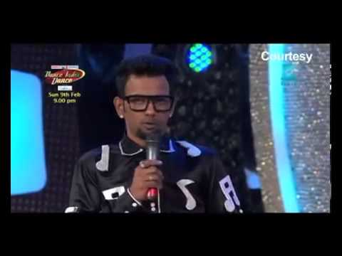 Dharmesh On Dance India Dance Again video