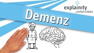 Demenz einfach erklärt (explainity® Erklärvideo)