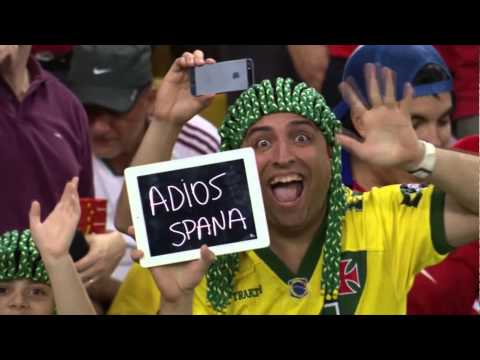 Clip TyC Sports Mundial 2014 España - Chile