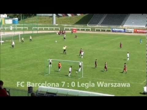 Białe Orły Cup. U-11. Legia Warszawa vs FC Barcelona