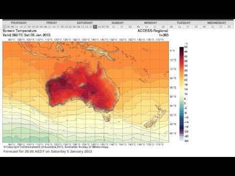 Extreme Heatwave Australia January 2013