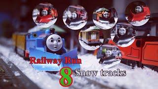 Thomas and Friends Trackmaster Railway Run #8 |  SNOW TRACKS
