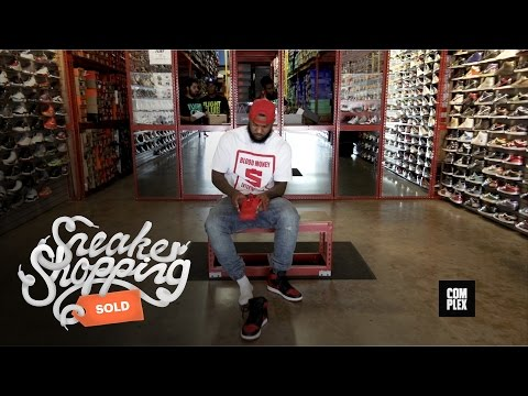 The Game Goes Sneaker Shopping at Flight Club LA