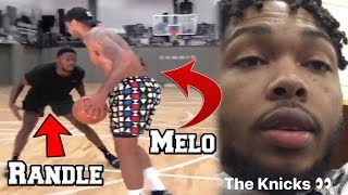 LEAKED FOOTAGE OF Carmelo Anthony's Scrimmage with the New York Knicks! Brandon Ingram to be traded?