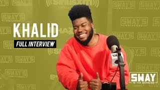 "Khalid Announces Being on Travis Scott Tour + Breaks Down ""American Teen"" LP"