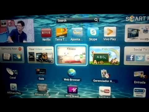 Samsung Smart TV EH5300 (video em HD) a escolha certa
