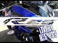 New Livery Yamaha R25 2018 | Livery R15 v3? Racing Blue