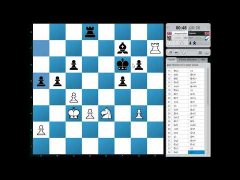 Blitz Chess: Chesscube Daily Warzone Final - 28th Dec 2012 (Chessworld.net)
