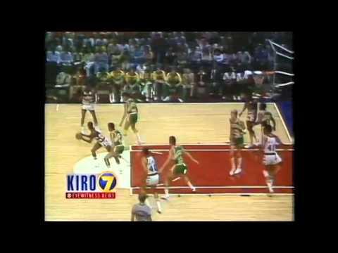 NBA Finals 1979 super sonics bullets game 5 4th quarter seattle washington