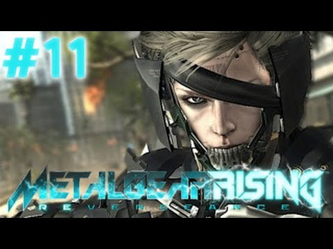 Metal Gear Rising Revengeance - Ne Çektim Be - Bölüm 11