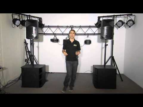 PA system with subs - Bands and DJ's