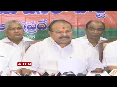 BJP leader Kanna Lakshmi Narayana Holds a Press Meet  | ABN Telugu
