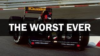 Andrea Moda - The Worst Team in Formula One History