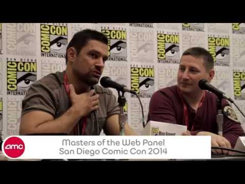 AMC's Masters Of The Web Comic-con 2014 Panel