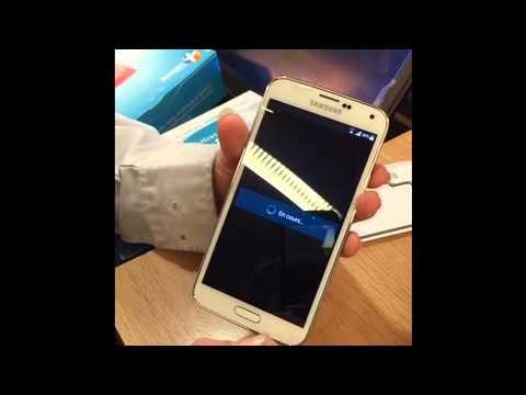 Unpack Samsung S5 Bouygues Telecom