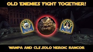 CLS and Wampa Solo Rancor in Under 8 Minutes | SWGOH