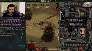 Diablo 2 - LADDER RESET DAY 2 - PUSHING LADDER RANK