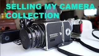 SELLING MY CAMERA COLLECTION