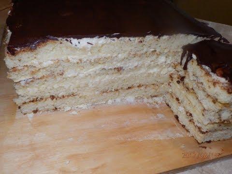 Нежный Торт с Молочными Коржами  / Milchmädchen