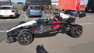 upload Ariel Atom driver on phone Brands hatch Formula Ford festival 21Oct18 1227p
