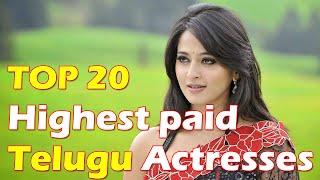 Top 20 Tollywood Heroines Remuneration   Highest Paid Telugu Heroines 2016