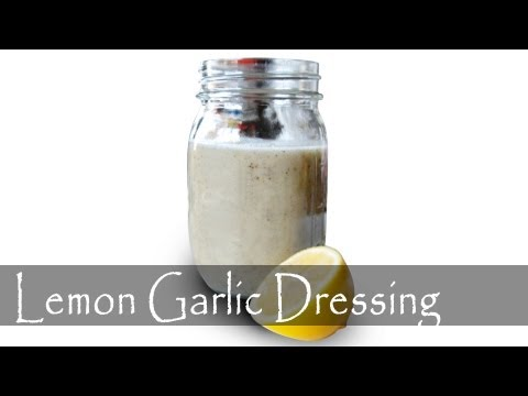 Lemon & Garlic Vinaigrette Recipe