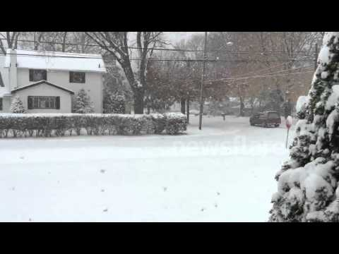 First Northeast Ohio Snow of 2014