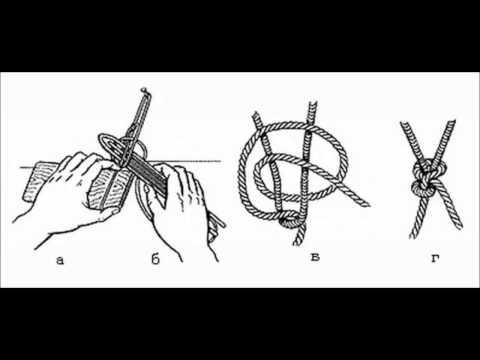 Как плести рыболовную сеть своими руками