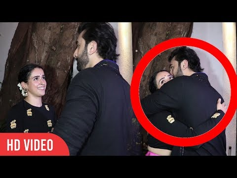 Ranbir Kapoor Cute Moment With Dangal Girl Sanya Malhotra | Ranbir Kapoor Hugs Sanya thumbnail