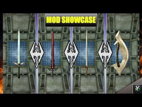 DARK STEEL SWORDS!!- Xbox Modded Skyrim Mod Showcase