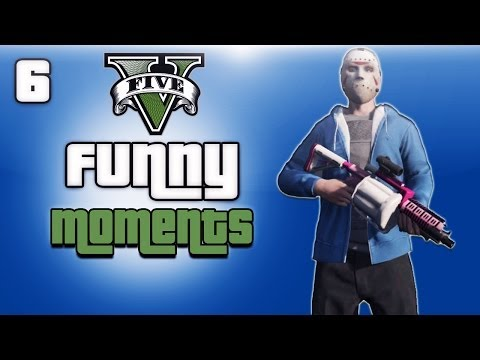 GTA 5 Online Funny Moments Ep. 6 (I'm The Real Delirious!)