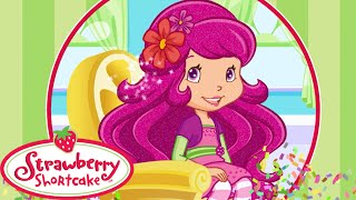Strawberry Shortcake Berry Beauty Salon Movie Video Game - Raspberry Torte New Hair Style