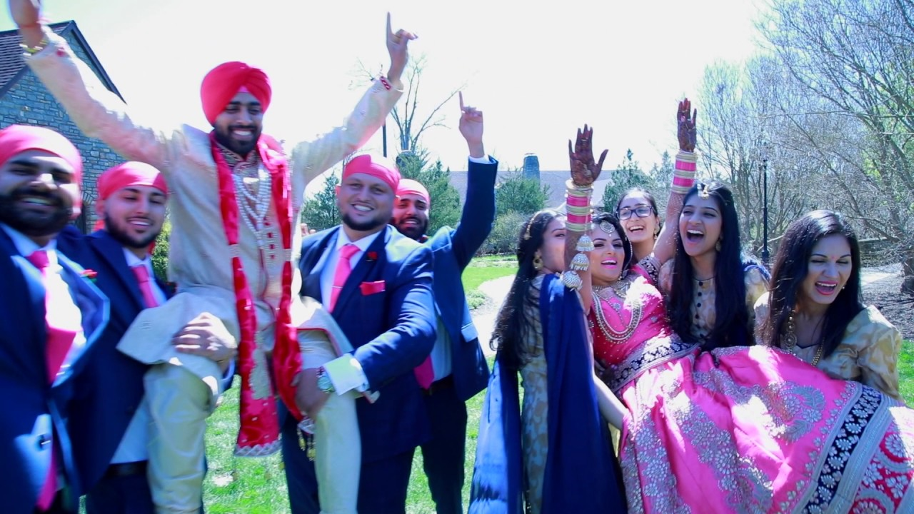 Punjabi american wedding