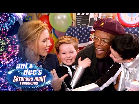 Samuel L. Jackson & Scarlett Johansson's Super Hero Party - Saturday Night Takeaway