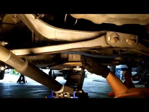 Mazda 626 - Removing the Fuel Tank