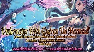 Kitti Minx ASMR - Underwater With Gudrun The Mermaid! [ Soft Spoken ] Audio Roleplay